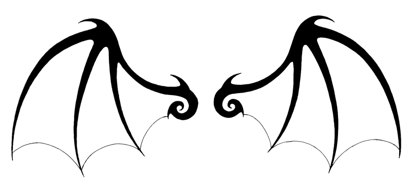 Wings clipart #3, Download drawings