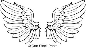 Wings clipart #6, Download drawings