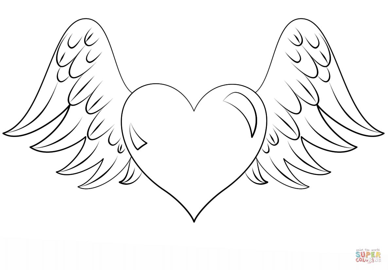 Wings coloring #17, Download drawings