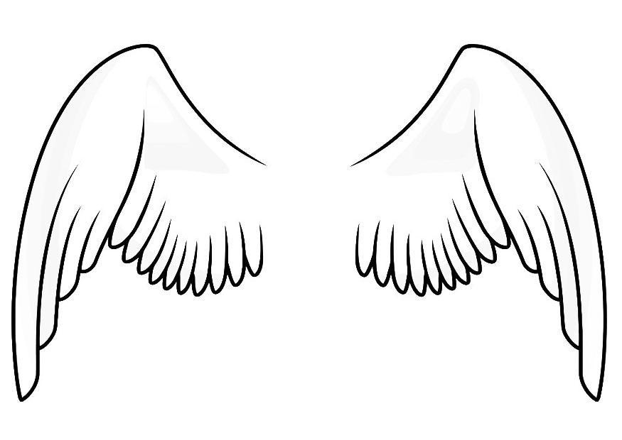 Wings coloring #15, Download drawings