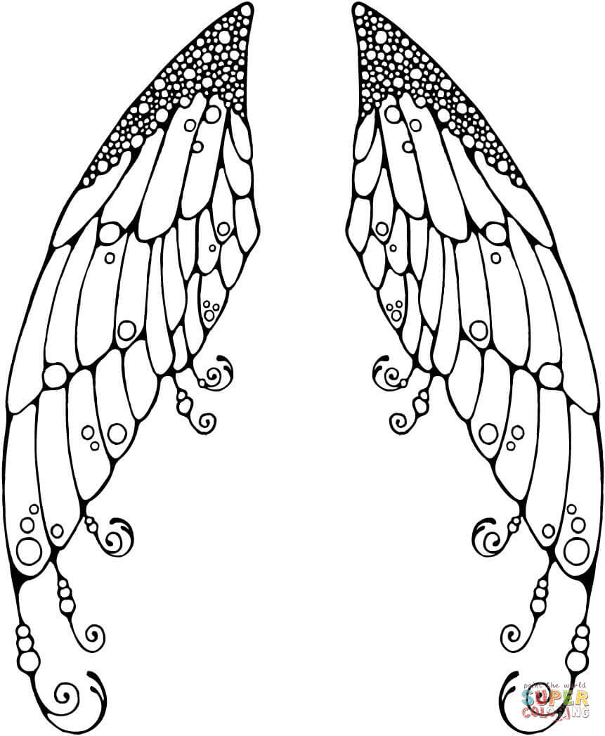 Pixie coloring #8, Download drawings