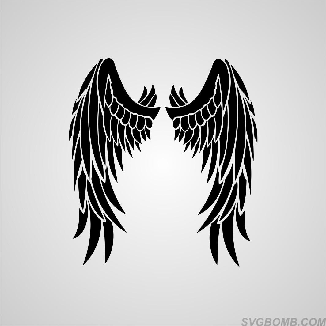 wings svg free #1202, Download drawings