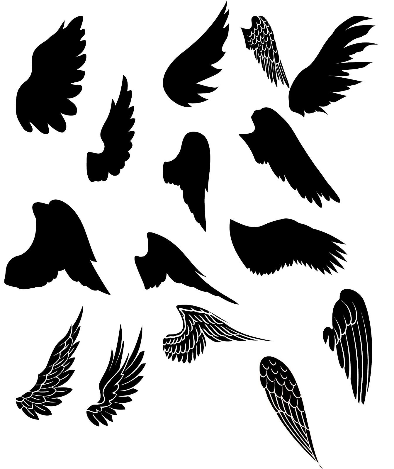 wings svg free #1195, Download drawings