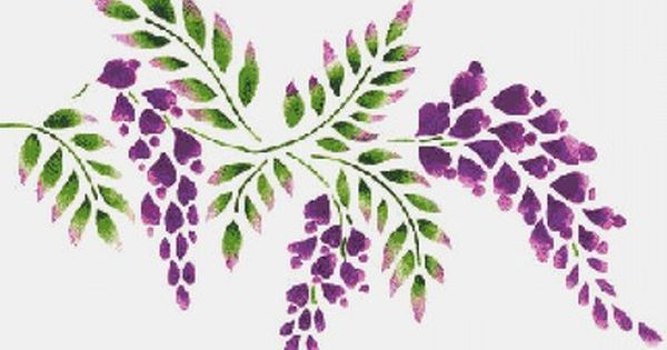 Wisteria clipart #15, Download drawings
