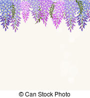 Wisteria clipart #18, Download drawings