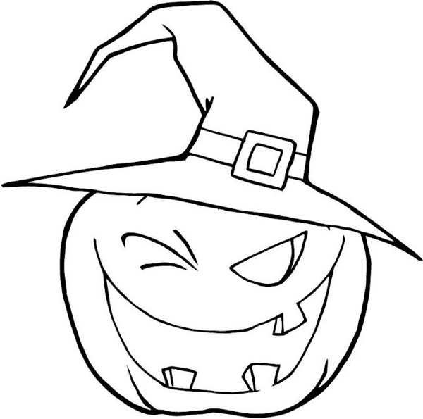 Witch Hat coloring #3, Download drawings