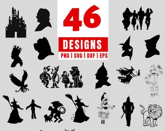 wizard of oz svg #1161, Download drawings