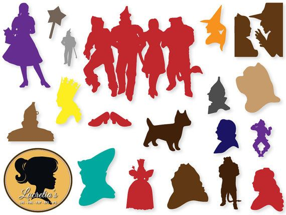 wizard of oz svg #1168, Download drawings