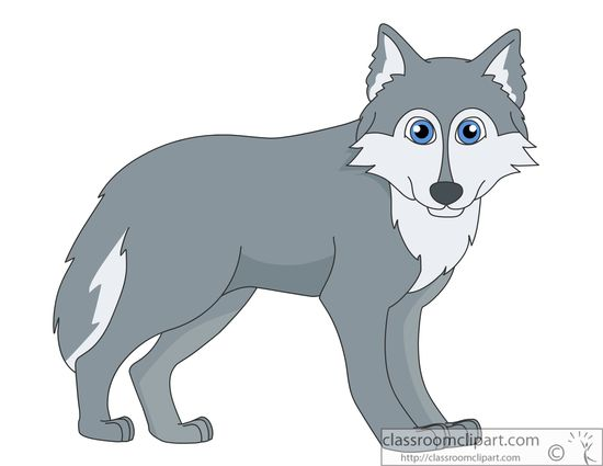 Wolf clipart #20, Download drawings