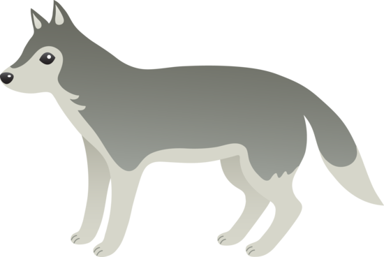 Wolf clipart #14, Download drawings