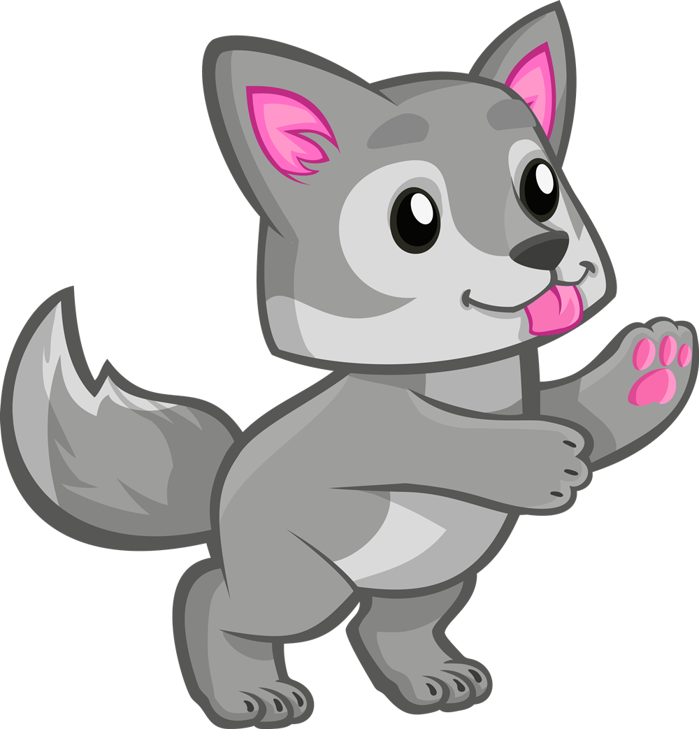Wolf clipart #12, Download drawings