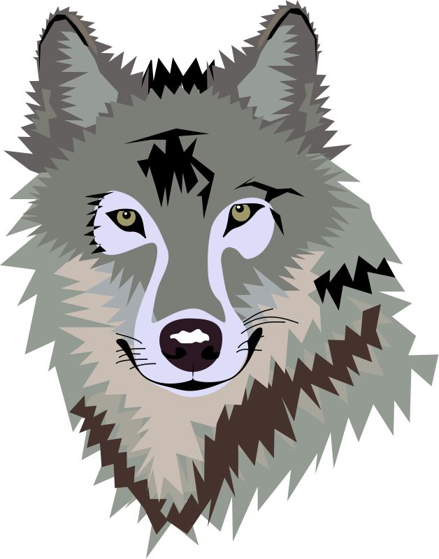 Wolf clipart #8, Download drawings