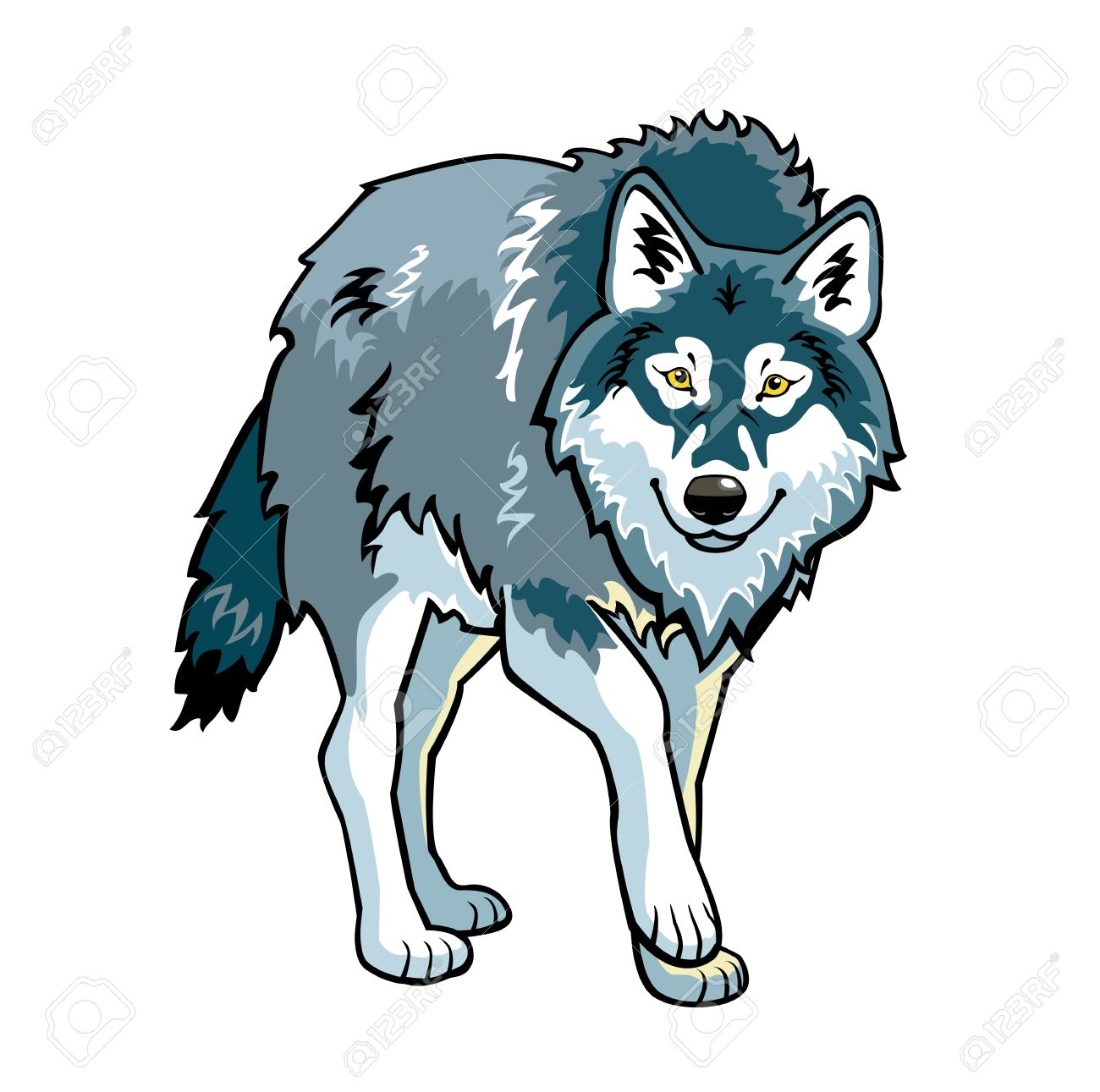 Wolf clipart #10, Download drawings