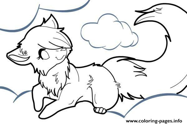 Arctic Wolf coloring #18, Download drawings