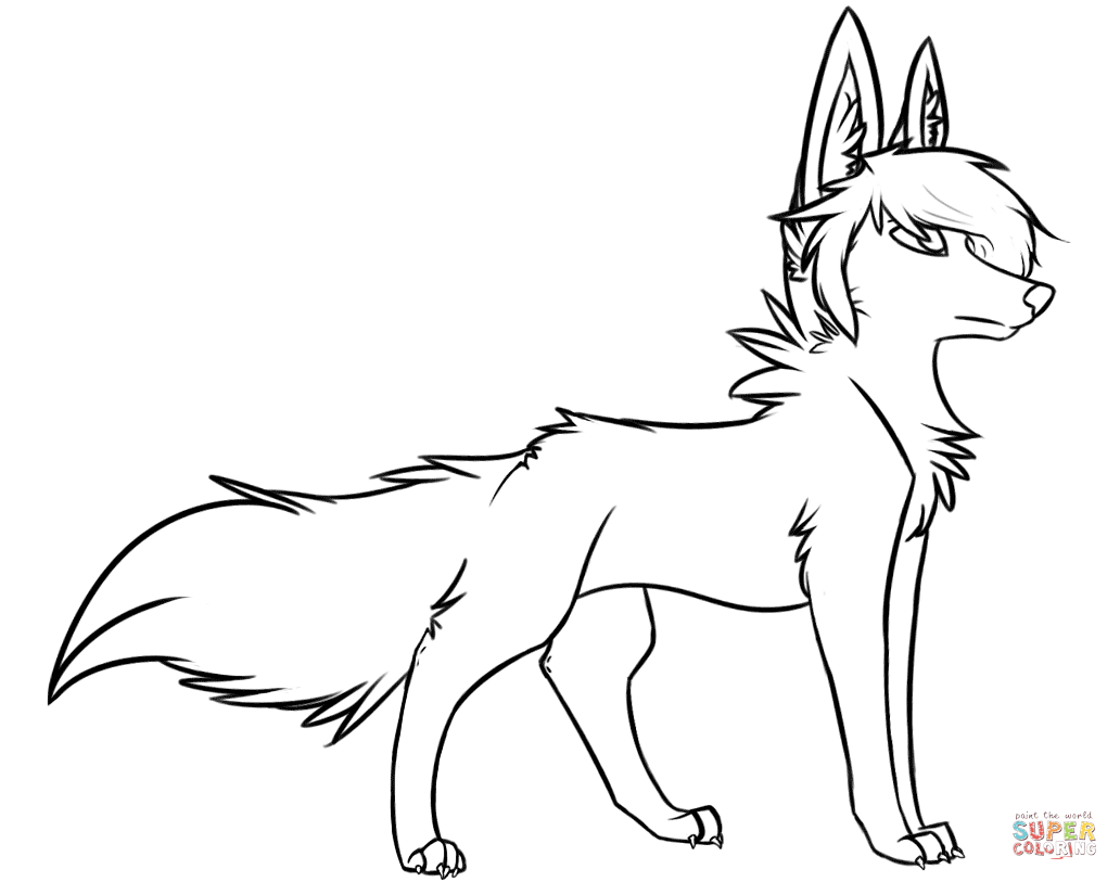 Wolf coloring, Download Wolf coloring for free 2019