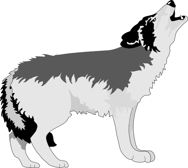 White Wolf svg #5, Download drawings
