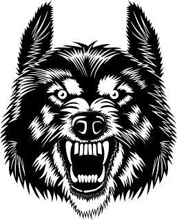 Wolf svg #153, Download drawings