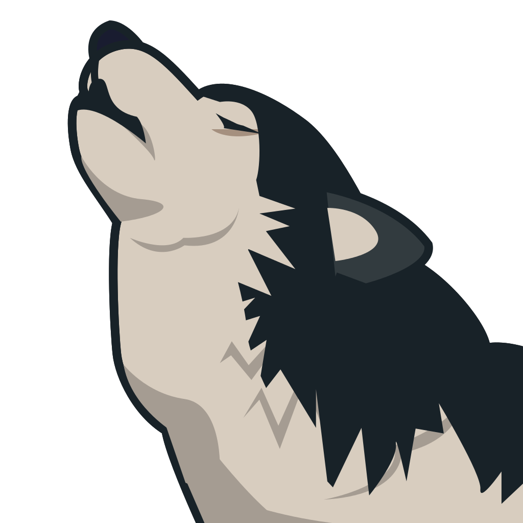 Wolf svg #3, Download drawings