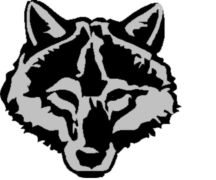 White Wolf svg #10, Download drawings