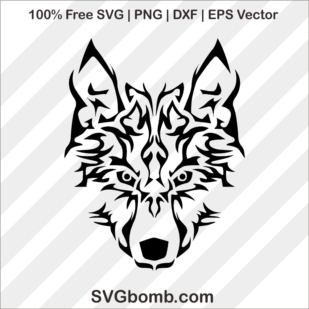 wolf svg free #448, Download drawings