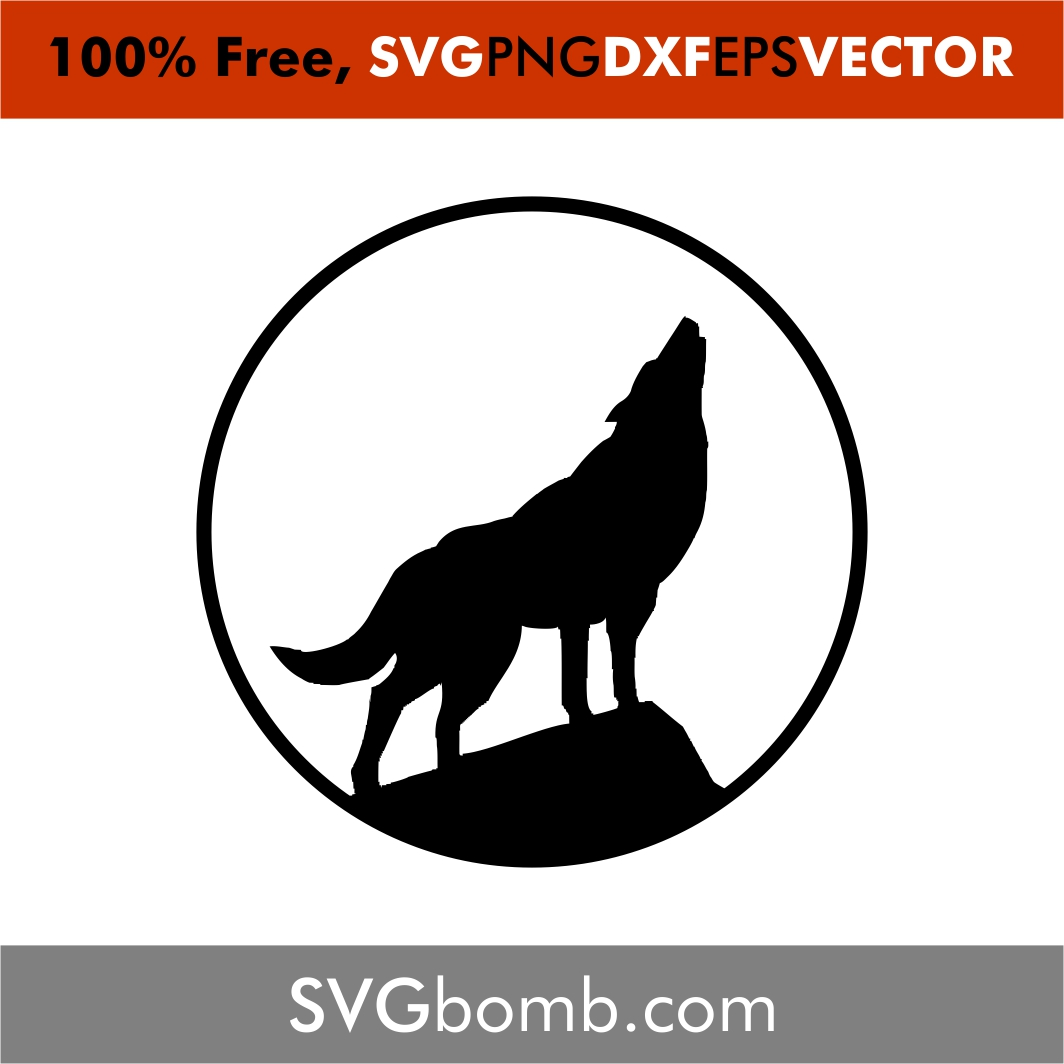 wolf svg free #447, Download drawings