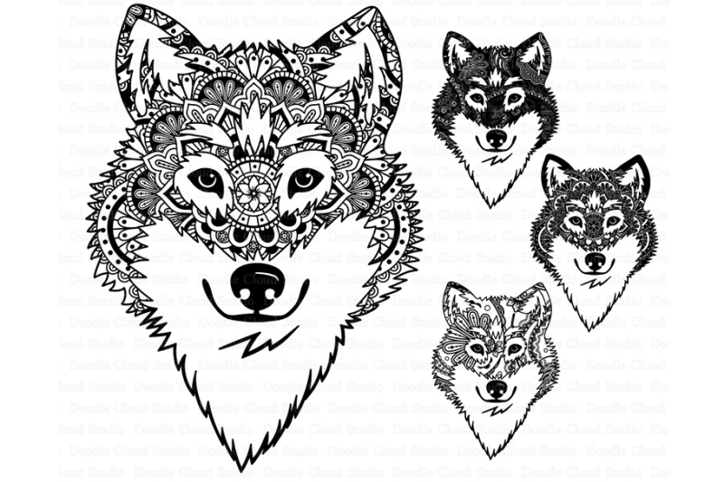 wolf svg free #445, Download drawings