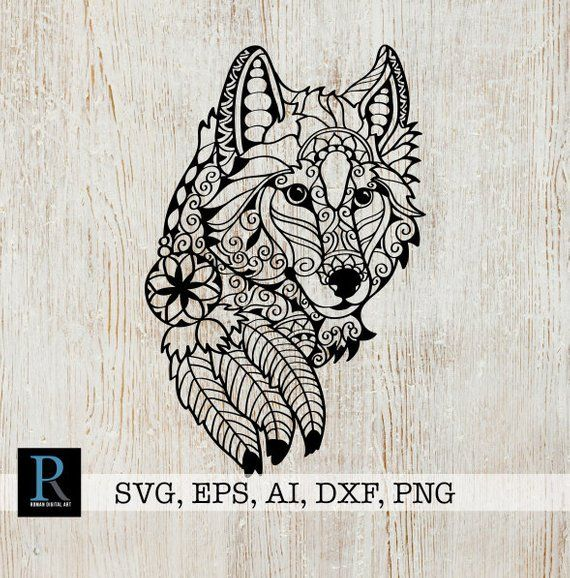 wolf svg free #444, Download drawings
