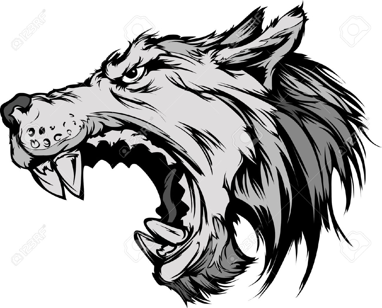 Wolfdog clipart #13, Download drawings