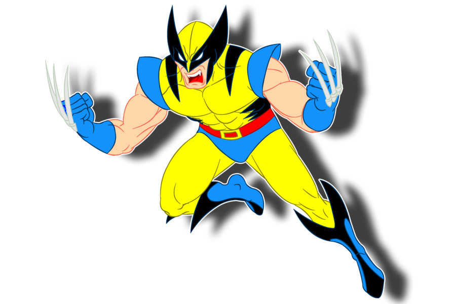 Wolverine clipart #2, Download drawings