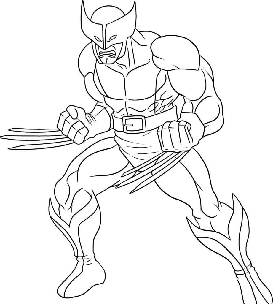 Superhero coloring #6, Download drawings