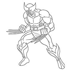 Superhero coloring #19, Download drawings