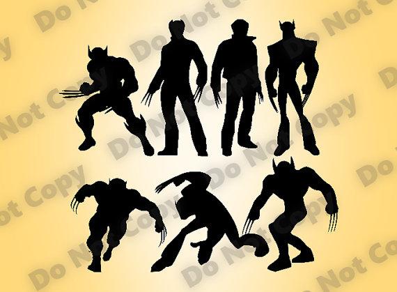 Wolverine svg #2, Download drawings
