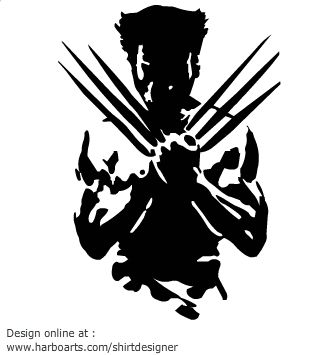 Wolverine svg #6, Download drawings