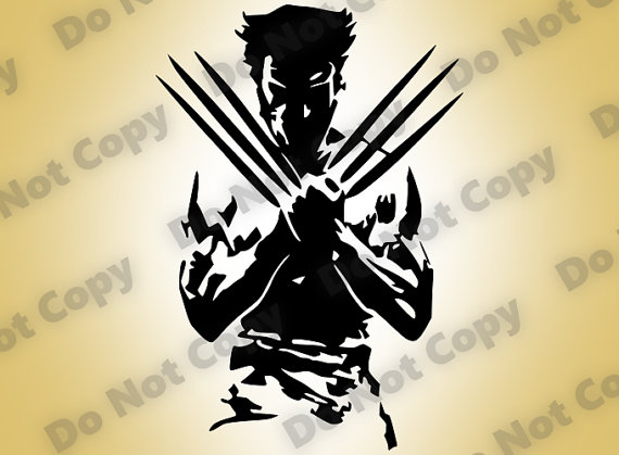 Wolverine svg #16, Download drawings