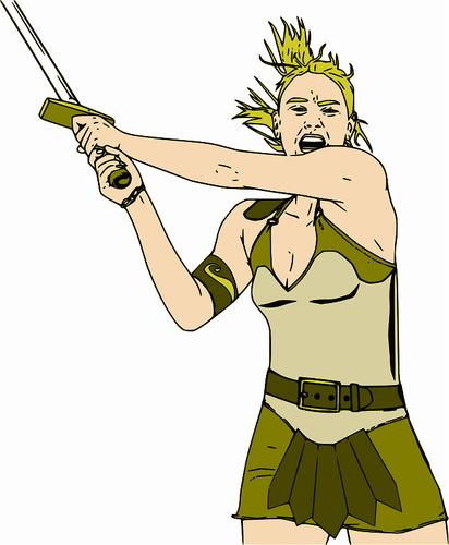Woman Warrior clipart #1, Download drawings