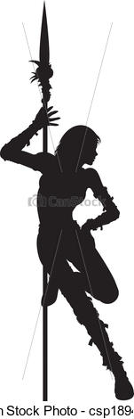 Woman Warrior clipart #4, Download drawings