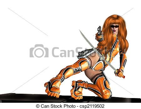 Women Warrior clipart #4, Download drawings