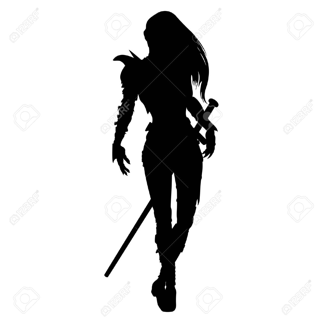 Woman Warrior clipart #9, Download drawings