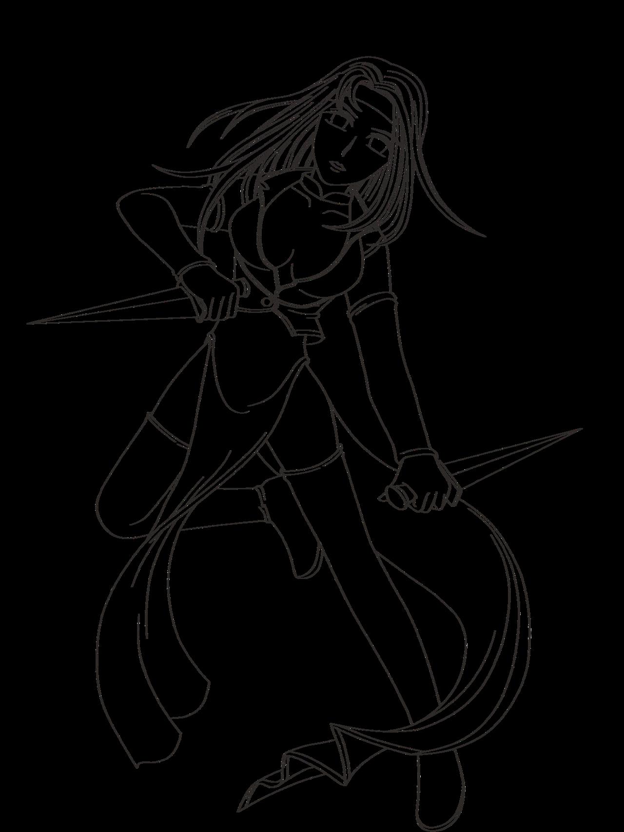 Woman Warrior coloring #3, Download drawings