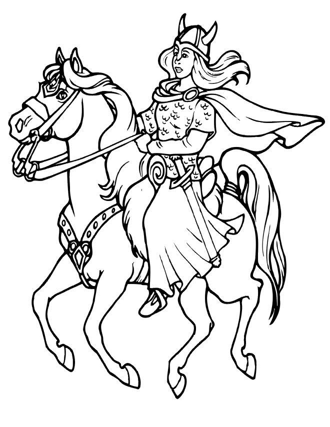 Woman Warrior coloring #7, Download drawings