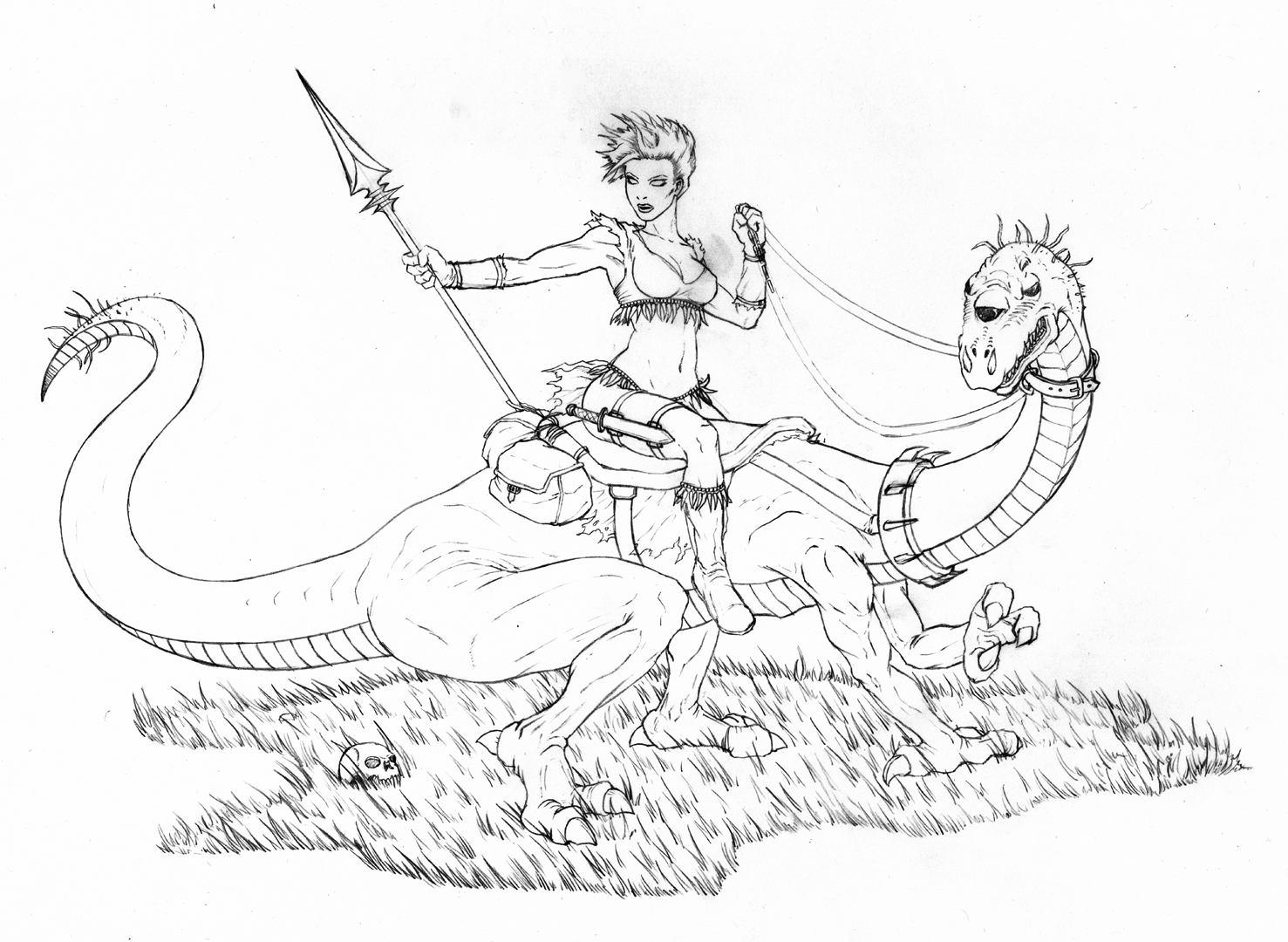 Woman Warrior coloring #9, Download drawings