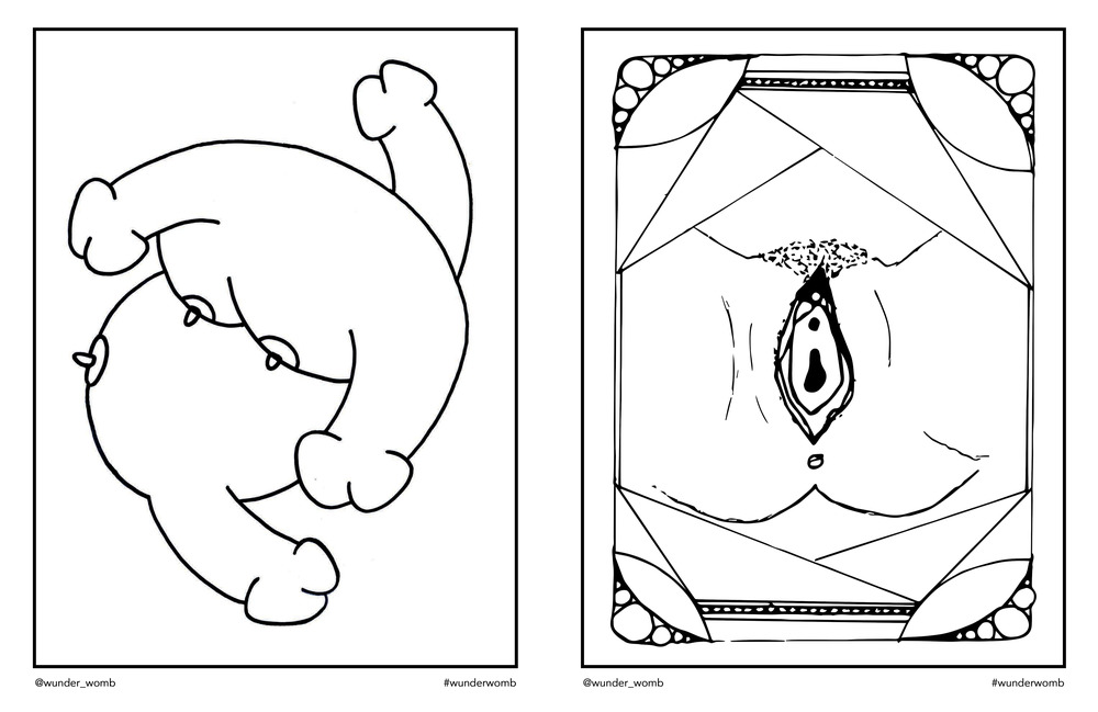 Womb coloring #9, Download drawings