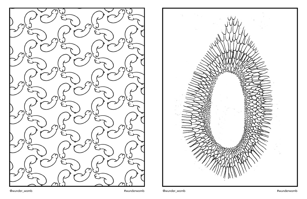 Womb coloring #5, Download drawings