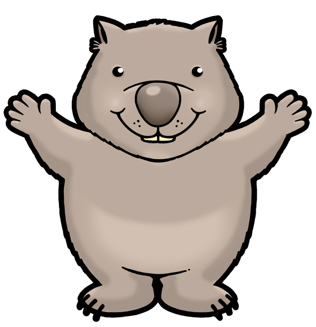 Wombat clipart #7, Download drawings