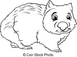 Wombat clipart #14, Download drawings