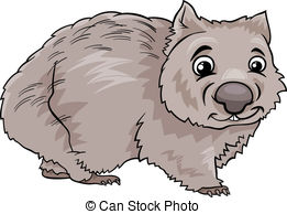 Wombat clipart #1, Download drawings