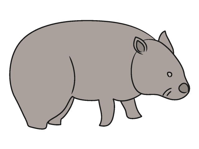 Wombat clipart #15, Download drawings