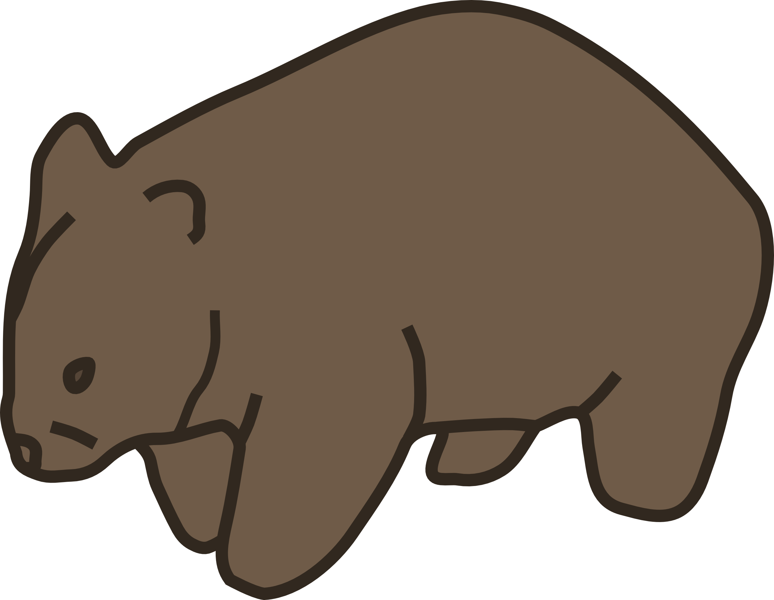 Wombat clipart #6, Download drawings