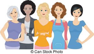 Women clipart #1, Download drawings