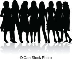Women clipart #2, Download drawings